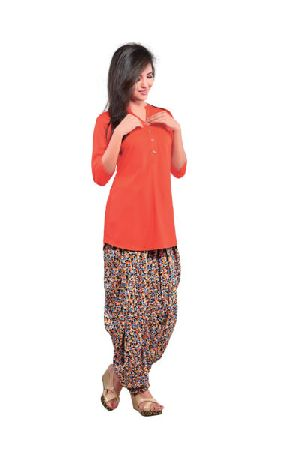 BB-506 Ladies Patiala Salwar and Short Kurti Set