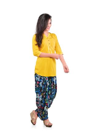 BB-510 Ladies Patiala Salwar and Short Kurti Set