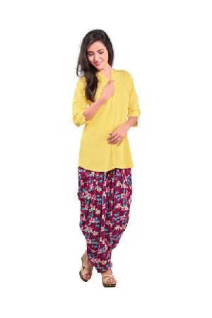 BB-512 Ladies Patiala Salwar and Short Kurti Set