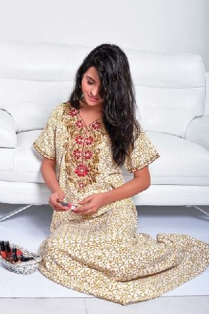 SC-410599 Ladies Embroidered Nighty