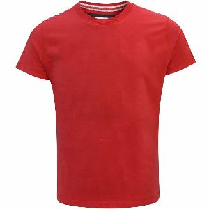 Mens Plain Round Neck T-Shirt 05