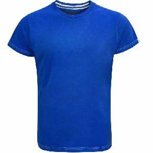 Mens Plain Round Neck T-Shirt 08