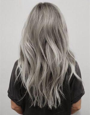 Grey Remy Hair