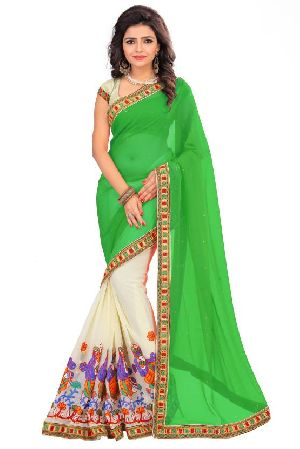 Georgette Indian Sarees