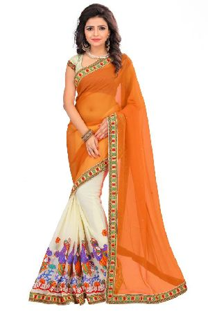 Georgette Traditional Sarees