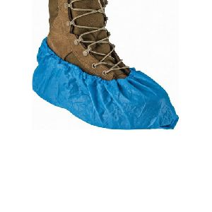 Polythene Disposable Shoe Cover