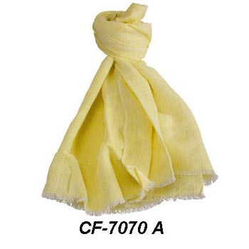 CF-7070 A Cotton & Linen Scarf