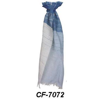 CF-7072 Cotton & Linen Scarf