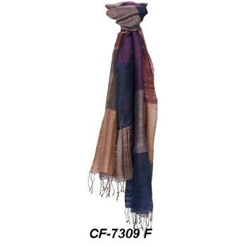 CF-7309 F Silk & Woolen Scarf