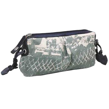 CL-7802 Beauti Case Canvas & Nappa Leather