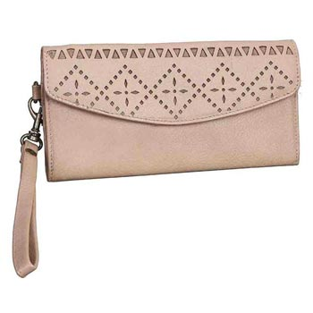 L-5169 A Ladies Purse Nappa Leather Rope beige Colour