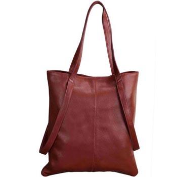 L-5171 Hand Bag Nappa Leather - Bordeaux Colour