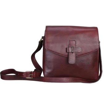 L-5221Unisex Bag Soft VT - Cognac Colour
