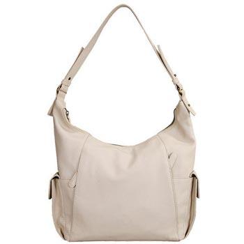 L-5223 Ladies Bag Nappa Leather - Off White