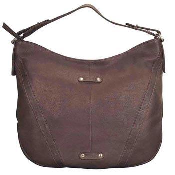 L-5240 Ladies Hand Bag Antique Leather Brown
