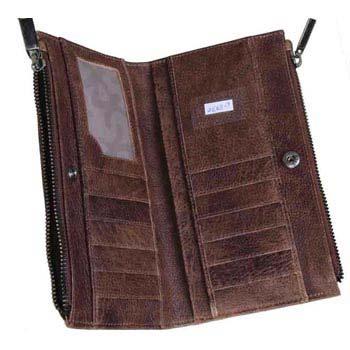L-5330 Ladies Purse Gavi Leather  Brown