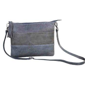 L-5355 Unisex Bag Gavi & Distress Leather (Olive Colour)