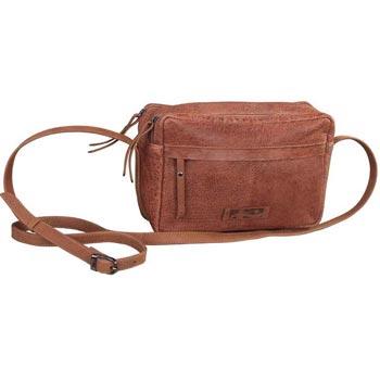 L-5489 D Small Cross Handle Bag in Gavi Leather