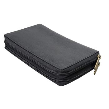 L-5649 Ladies Purse Nappa Leather -  Black