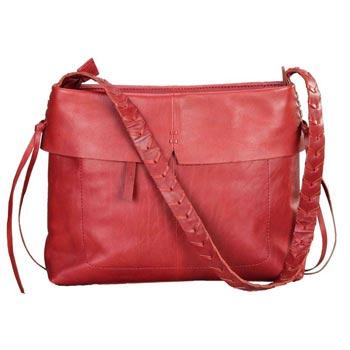 L-5790 D Shoulder Bag Soft Vt Leather - Cognac