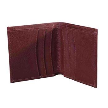 L-5928 Card Case Soft Vt - Cognac Colour