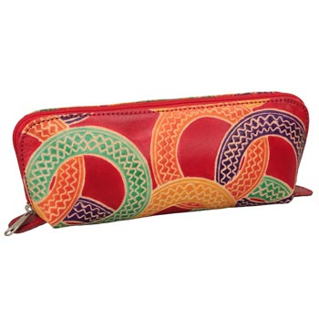 L-9032 Shanti Leather Pencil Case