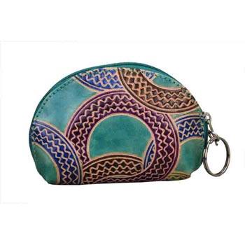 L-9032 Q  India Shanti Leather Pouch