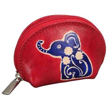 L-9146 QB Shanti Leather Pouch