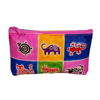L-9396 Shanti Leather Pouch