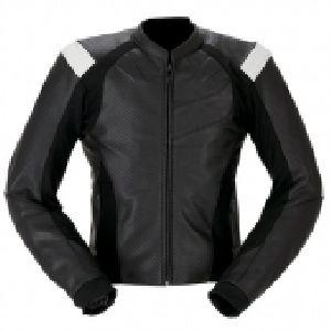 FLE-102 Leather Motorbike Jacket