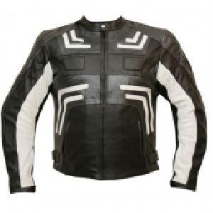 FLE-105 Leather Motorbike Jacke