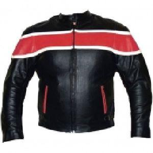 FLE-106 Leather Motorbike Jacket