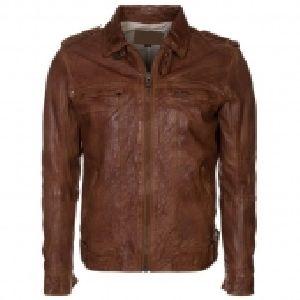 FLE-2105 Leather Mens Jacket