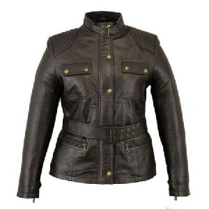 FLE-2201 Leather Ladies Jacket