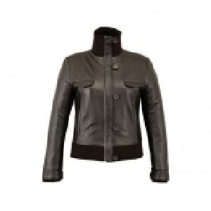 FLE-2202 Leather Ladies Jacket