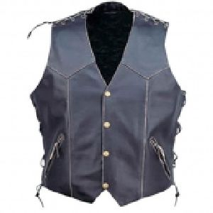 FLE-508 Leather Vest