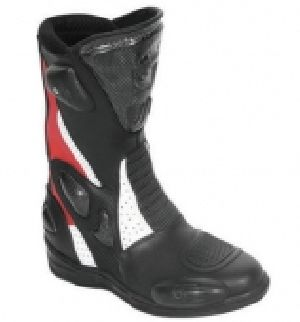 FLE-701 Leather Motorbike Boot