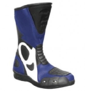 FLE-702 Leather Motorbike Boot