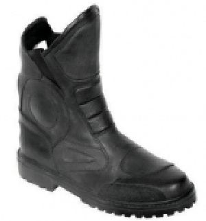 FLE-703 Leather Motorbike Boot