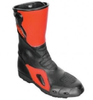 FLE-704 Leather Motorbike Boot