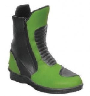FLE-705 Leather Motorbike Boot