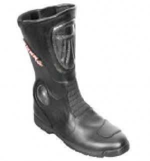 FLE-706 Leather Motorbike Boot