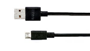 DATA CABLE 2A BLACK 2M MICRO USB