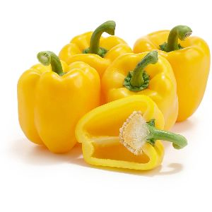 Fresh Yellow Capsicum 01