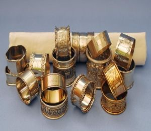Copper Napkin Ring Set