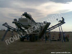 Wheel Mounted Screening Plant