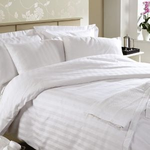 Satin Cotton Hotel Bed Sheets