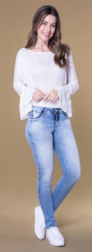 8627 - Ladies Caminito Denim Jeans 01