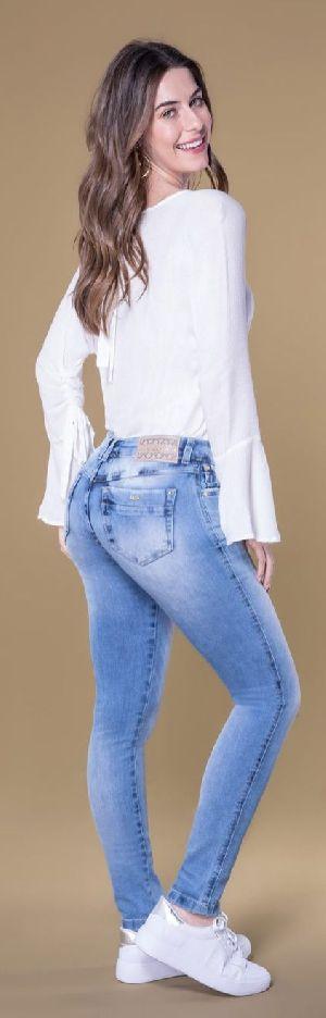 8627 - Ladies Caminito Denim Jeans 02