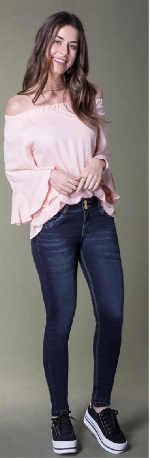 8633 - Ladies San Telmo Denim Jeans 01